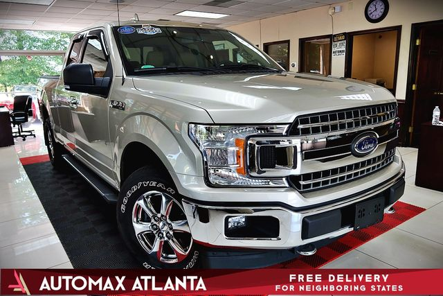 Atlanta Used Cars Lilburn >> 2018 Used Ford F-150 302A PACKAGE ***XLT****4WD NAVIGATION ...