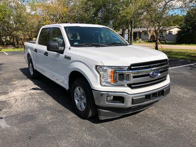 2018 Ford F-150 LARIAT 2WD SuperCrew 5.5' Box Truck