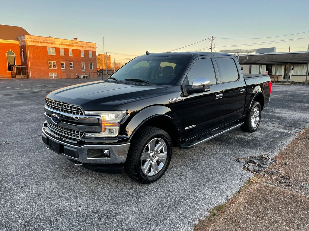 2018 Used Ford F 150 Lariat 4wd Supercrew 5 5 Box At Allen Auto Sales Serving Paducah Ky Iid 20432411