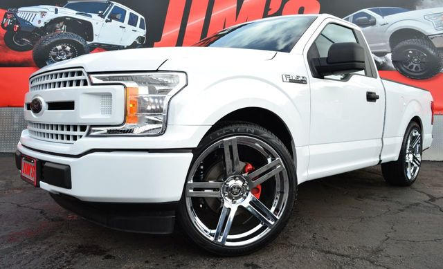 2018 Used Ford F 150 Regular Cab Lowered W 24 Dub Wheels Like New At Jims Auto Sales Serving Harbor City Ca Iid 18528227