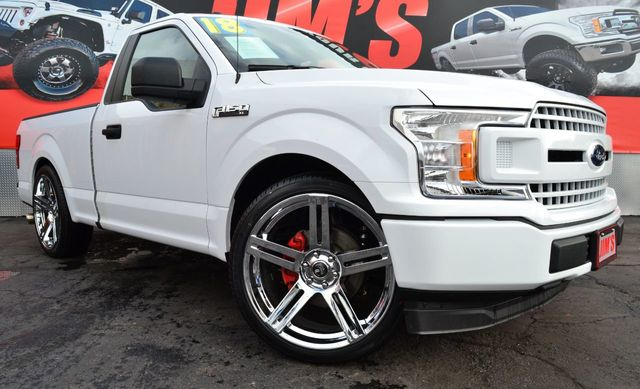 Ford F150 Wheels >> 2018 Used Ford F 150 Regular Cab Lowered W 24 Dub Wheels Like New At Jim S Auto Sales Serving Harbor City Ca Iid 18528227