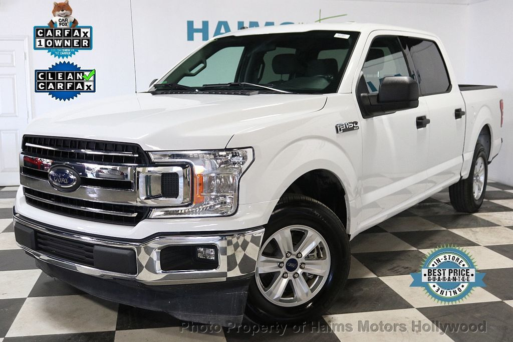 2018 Ford F-150 XLT 2WD SuperCrew 5.5' Box - 18253611 - 0