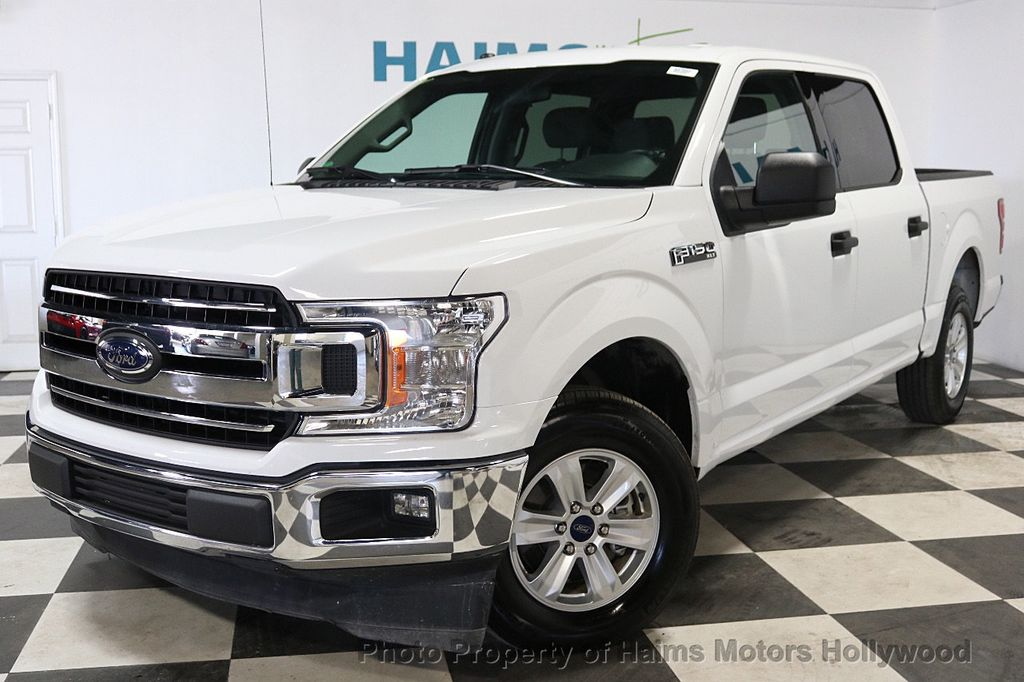 2018 Ford F-150 XLT 2WD SuperCrew 5.5' Box - 18253611 - 1