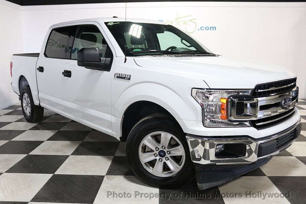 2018 Ford F-150 XLT 2WD SuperCrew 5.5' Box - 18253611 - 3