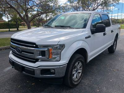 2018 Ford F-150 XLT 4WD SuperCrew 5.5' Box Truck
