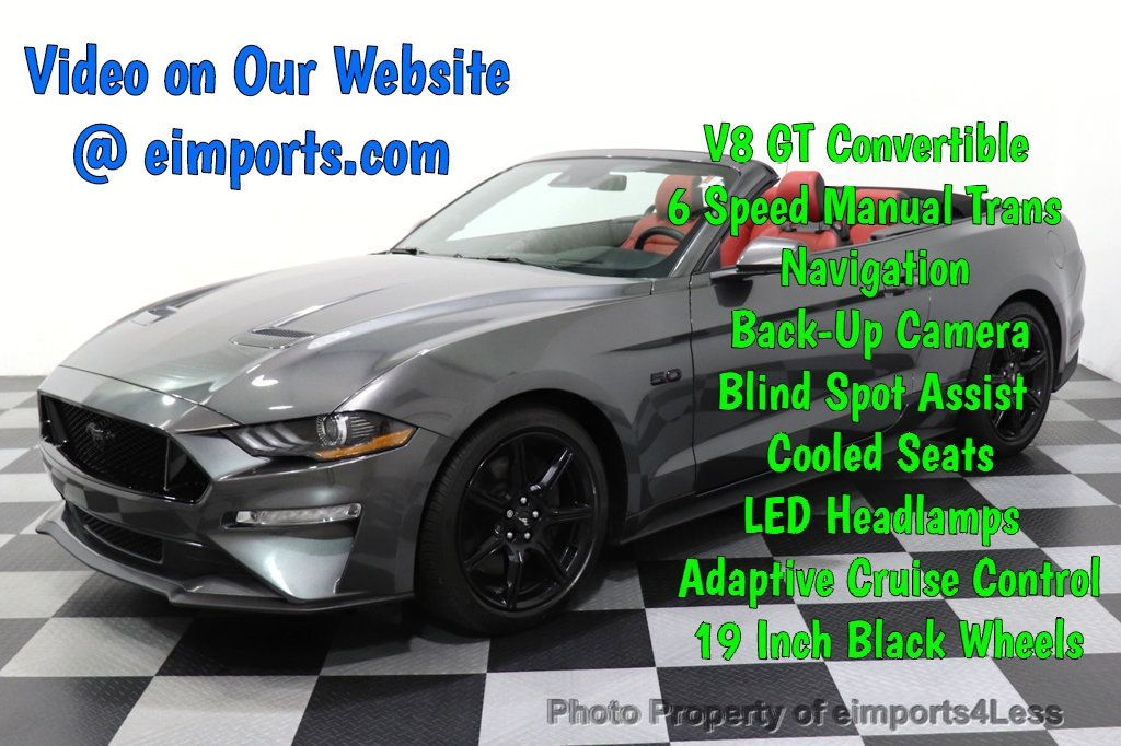 2018 Used Ford Mustang Certified Mustang Gt 5 0l V8 Premium