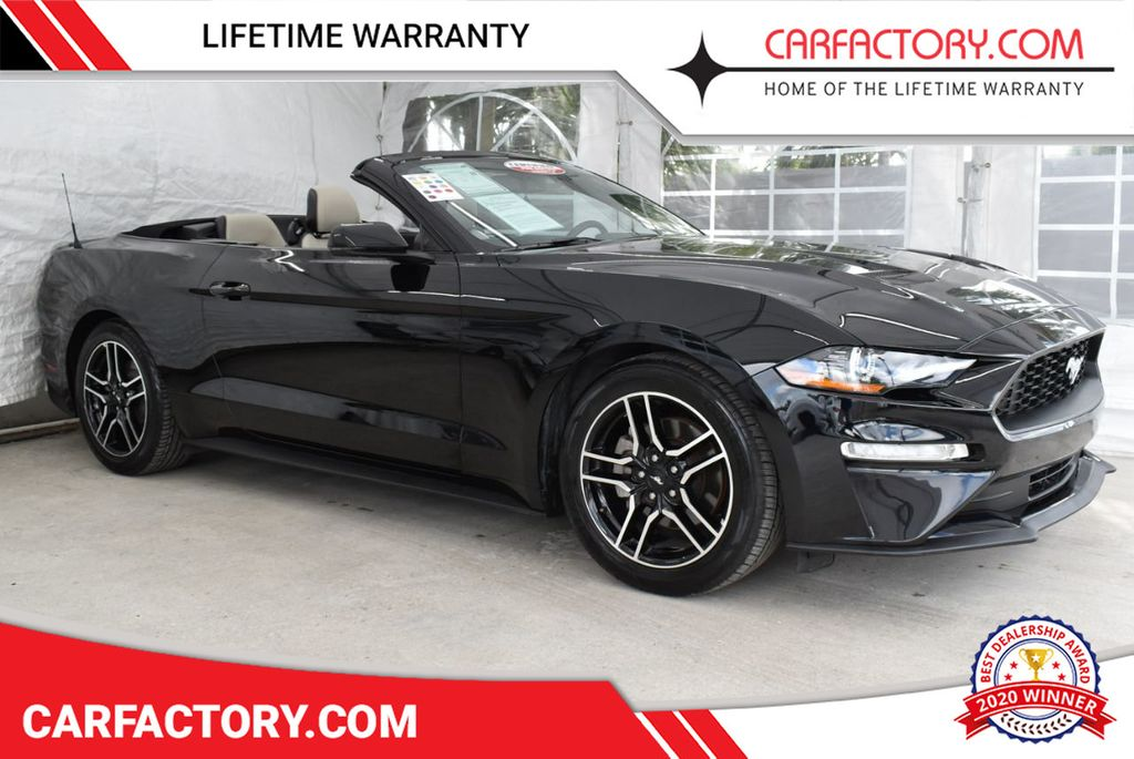 2018 Ford Mustang EcoBoost Convertible - 18676014 - 0