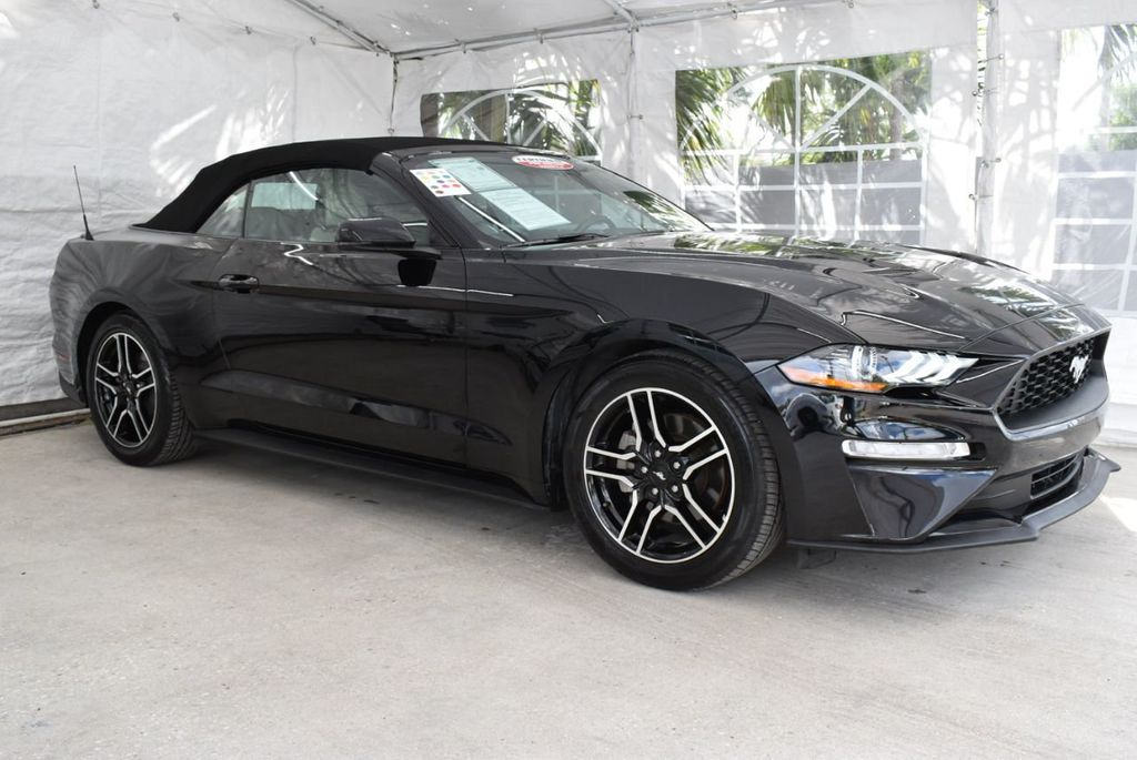 2018 Ford Mustang EcoBoost Convertible - 18676014 - 1
