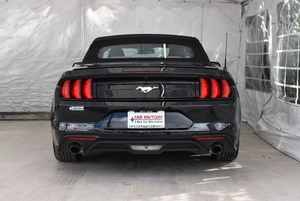 2018 Ford Mustang EcoBoost Convertible - 18676014 - 8
