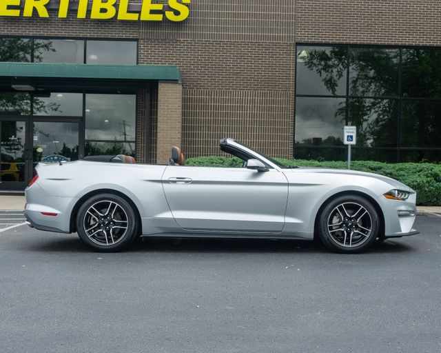 2018 Used Ford Mustang Ecoboost Convertible At Sunvertibles Serving Franklin Nashville Tn Iid 18891695