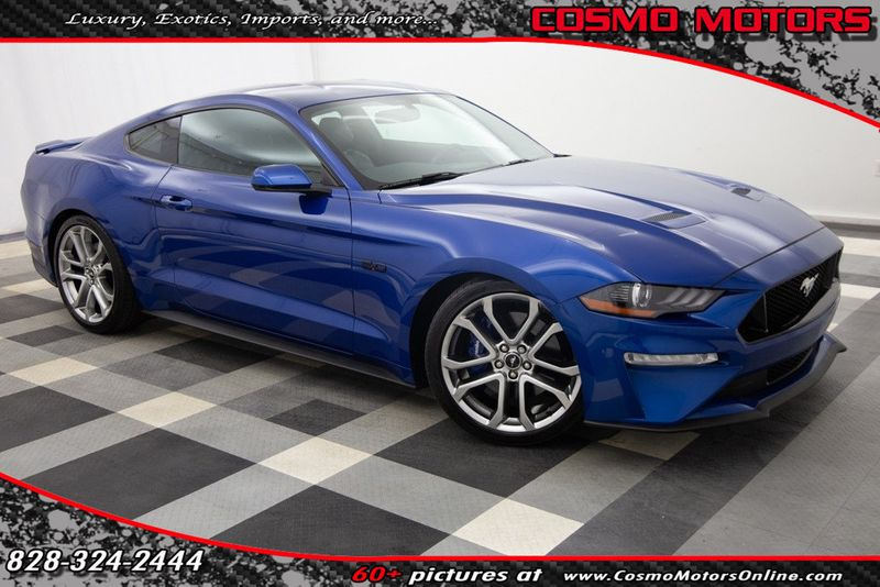 2018 Used Ford Mustang Gt Premium Fastback At Cosmo Motors Serving Hickory Nc Iid 20260766
