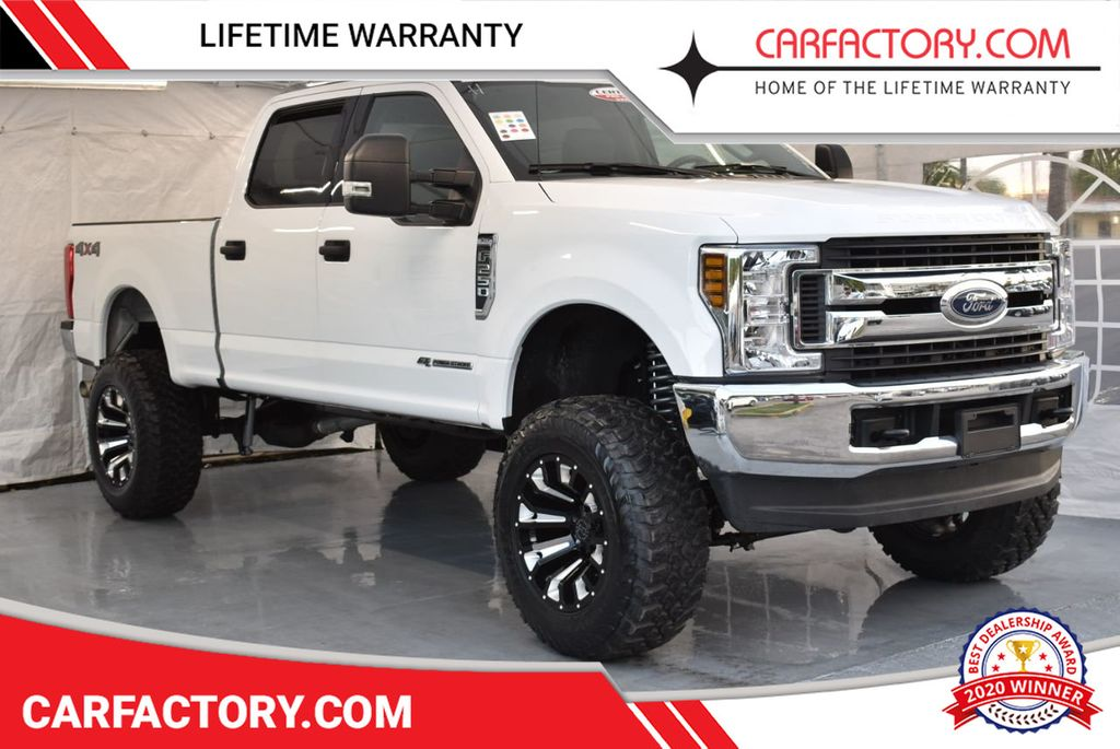 """2018 Ford Super Duty F-250 SRW 5"""" Rough Country Lift Kit with 20"""" Custom Rims & Tires - 18246523 - 0"""
