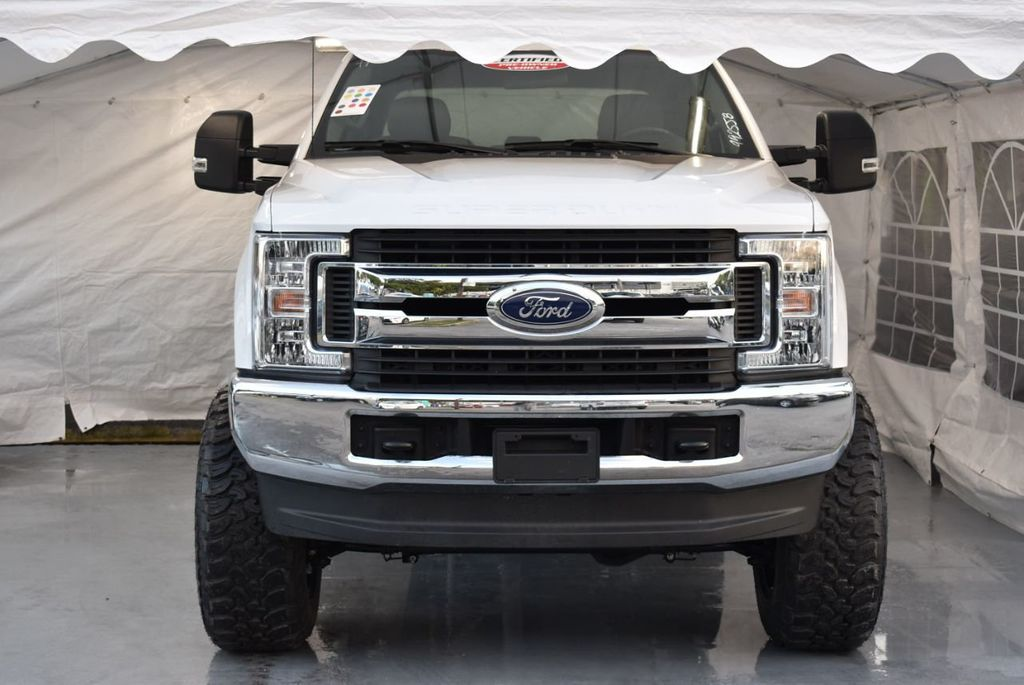 """2018 Ford Super Duty F-250 SRW 5"""" Rough Country Lift Kit with 20"""" Custom Rims & Tires - 18246523 - 2"""