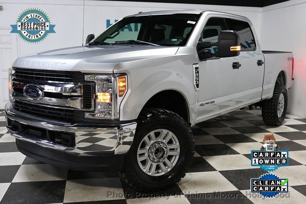 2018 Ford Super Duty F-250 SRW LIFTED W/LEATHER - 18611206 - 0