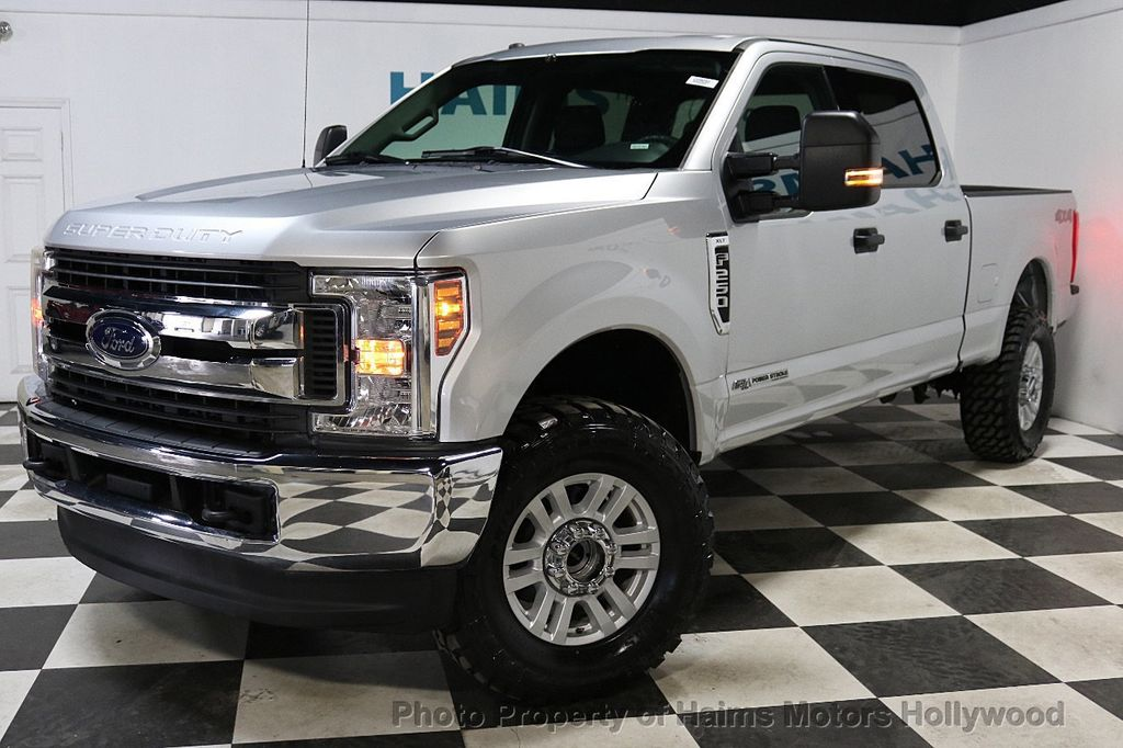 2018 Ford Super Duty F-250 SRW LIFTED W/LEATHER - 18611206 - 1