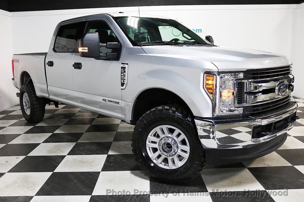2018 Ford Super Duty F-250 SRW LIFTED W/LEATHER - 18611206 - 3