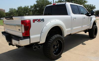 2018 Ford Super Duty F-250 SRW Platinum 4WD Crew Cab w/ULTIMATE PKG, FX4, SUSPENSION LIFT - Click to see full-size photo viewer