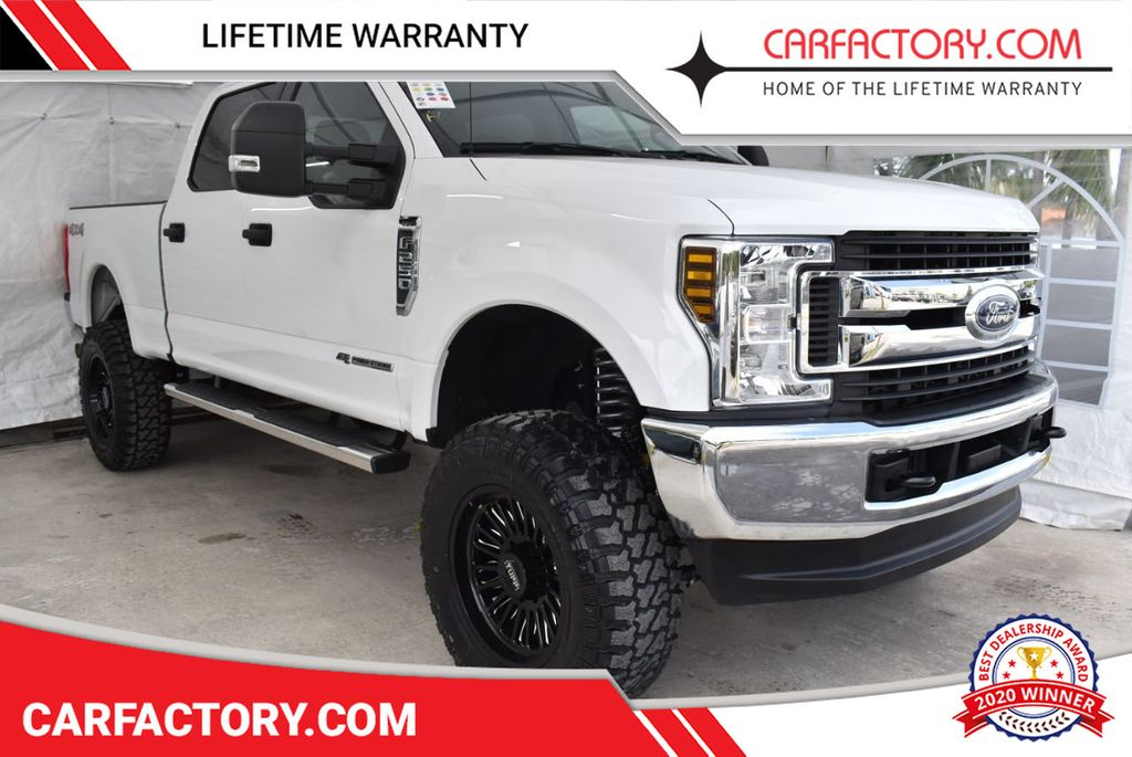 2018 Ford Super Duty F-250 SRW XLT 5''Rough Country Lift with 20'' Custom Rims & Tires - 18415852 - 0