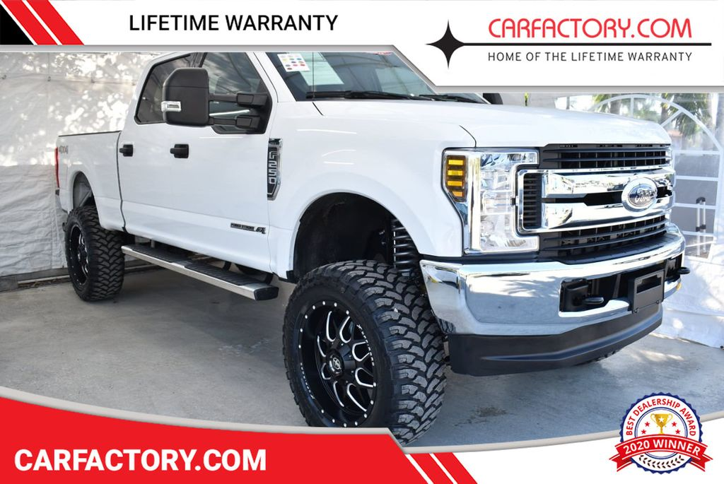 2018 Ford Super Duty F-250 SRW XLT 5''Rough Country Lift With 20'' Custom Rims & Tires Truck - 18432681 - 0
