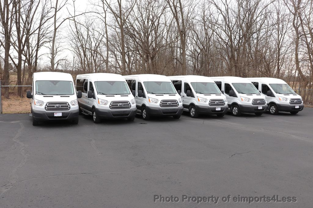 2018 Ford Transit Passenger Wagon BULK LOT OF 6 VANS AttN DEALERS AND EXPORTERS - 18478127 - 6