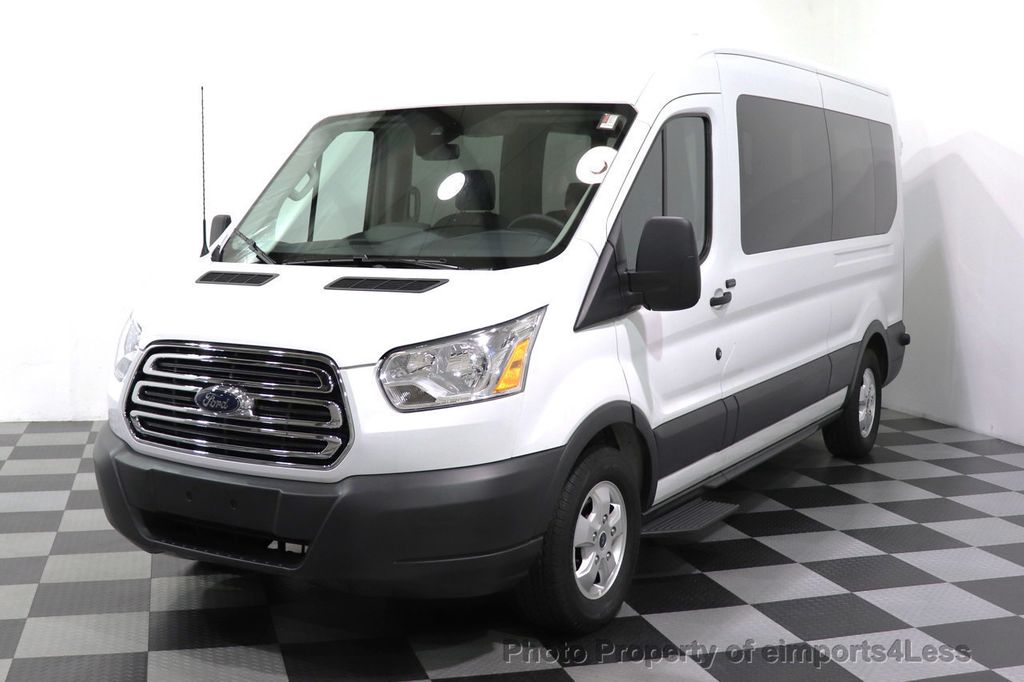 2018 Ford Transit Passenger Wagon CERTIFIED TRANSIT T350 MEDIUM ROOF 15 PASSENGER - 18398371 - 9