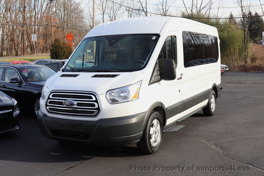 2018 Ford Transit Passenger Wagon CERTIFIED TRANSIT T350 MEDIUM ROOF 15 PASSENGER - 18398371 - 10