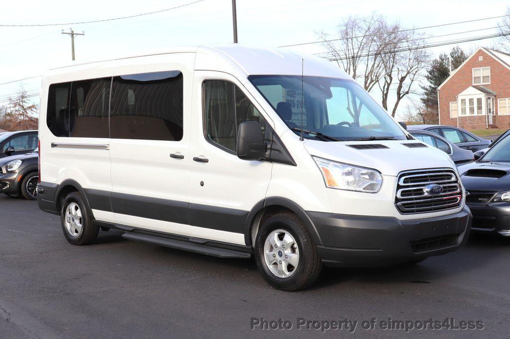2018 Ford Transit Passenger Wagon CERTIFIED TRANSIT T350 MEDIUM ROOF 15 PASSENGER - 18398371 - 12