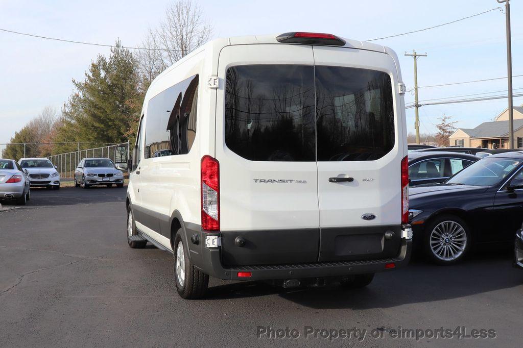 2018 Ford Transit Passenger Wagon CERTIFIED TRANSIT T350 MEDIUM ROOF 15 PASSENGER - 18398371 - 13