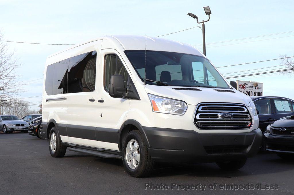 2018 Ford Transit Passenger Wagon CERTIFIED TRANSIT T350 MEDIUM ROOF 15 PASSENGER - 18398371 - 1