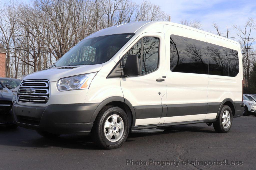 2018 Ford Transit Passenger Wagon CERTIFIED TRANSIT T350 MEDIUM ROOF 15 PASSENGER - 18398371 - 24