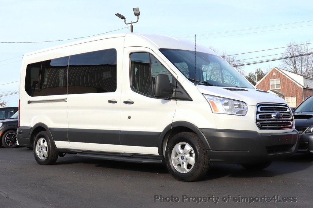 2018 Ford Transit Passenger Wagon CERTIFIED TRANSIT T350 MEDIUM ROOF 15 PASSENGER - 18398371 - 25