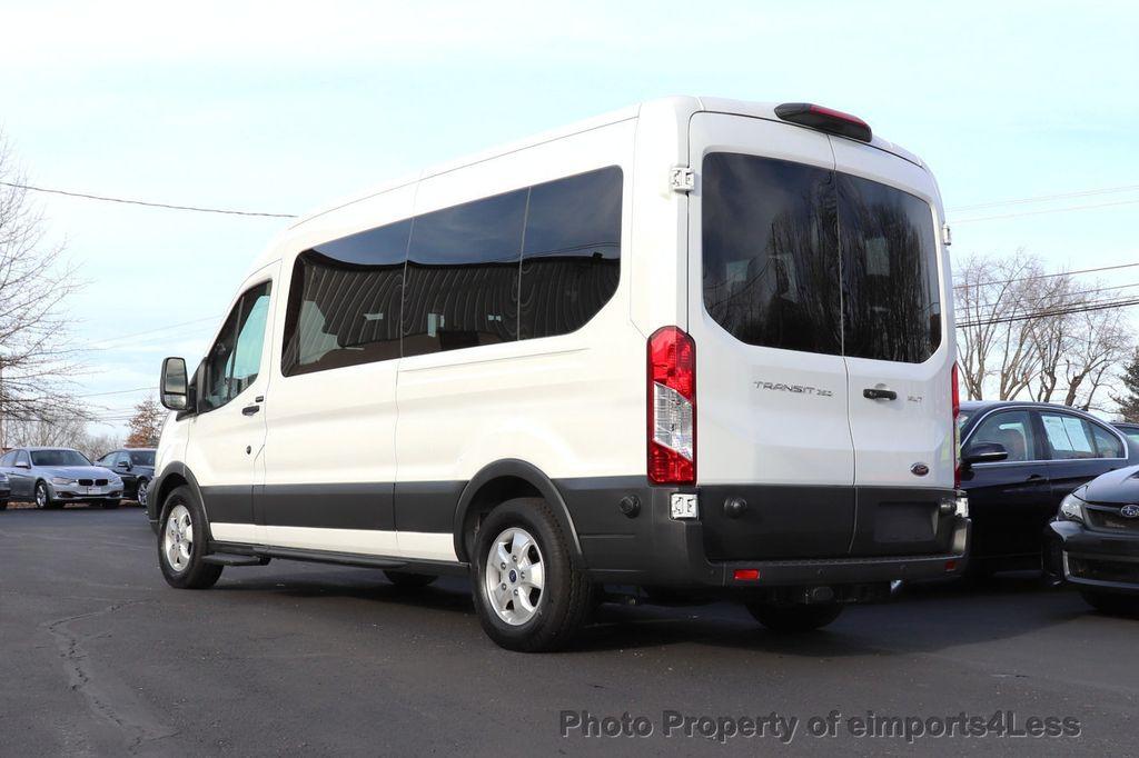 2018 Ford Transit Passenger Wagon CERTIFIED TRANSIT T350 MEDIUM ROOF 15 PASSENGER - 18398371 - 2