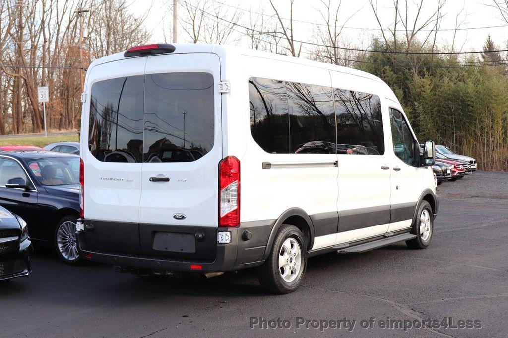 2018 Ford Transit Passenger Wagon CERTIFIED TRANSIT T350 MEDIUM ROOF 15 PASSENGER - 18398371 - 3