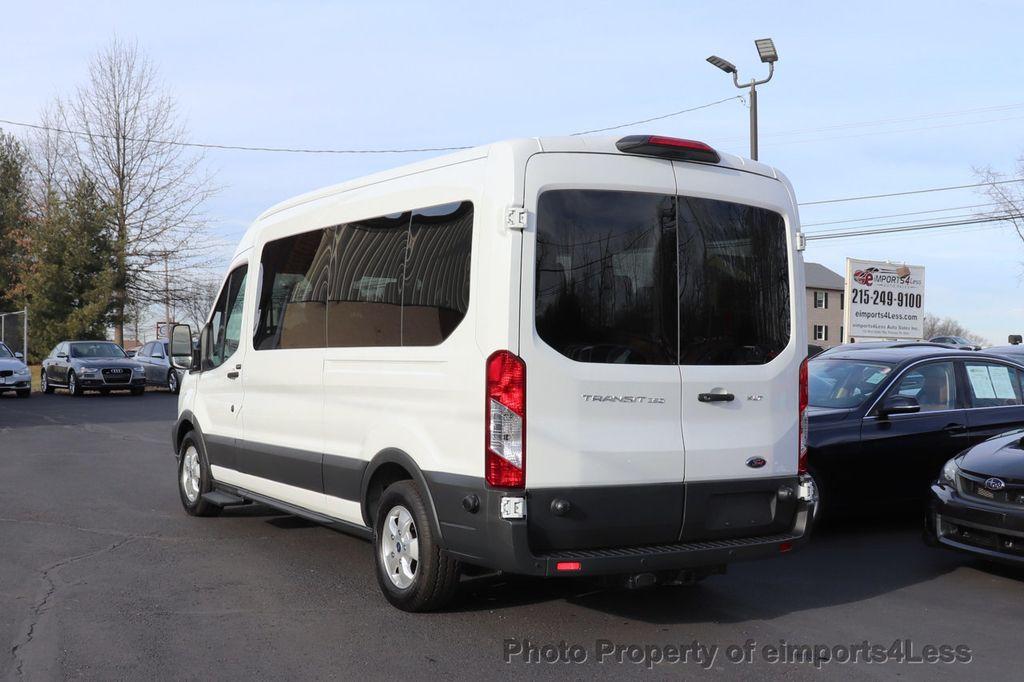 2018 Ford Transit Passenger Wagon CERTIFIED TRANSIT T350 MEDIUM ROOF 15 PASSENGER - 18398371 - 40