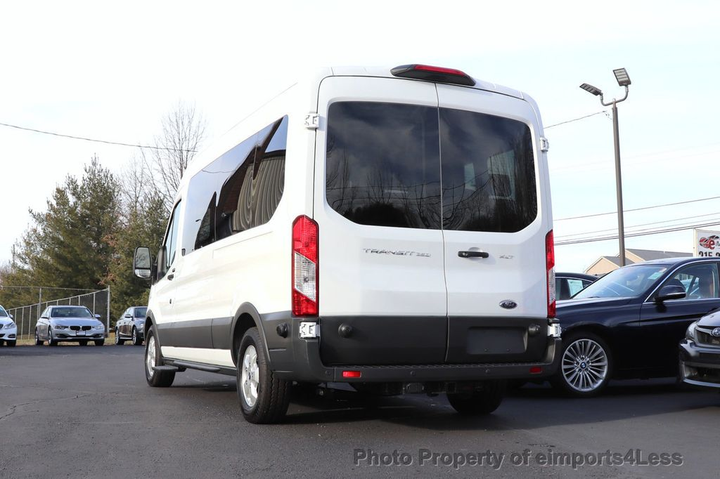 2018 Ford Transit Passenger Wagon CERTIFIED TRANSIT T350 MEDIUM ROOF 15 PASSENGER - 18398371 - 49