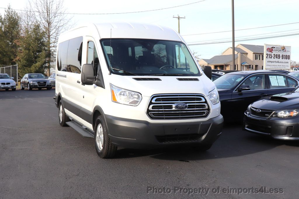2018 Ford Transit Passenger Wagon CERTIFIED TRANSIT T350 MEDIUM ROOF 15 PASSENGER - 18398371 - 51