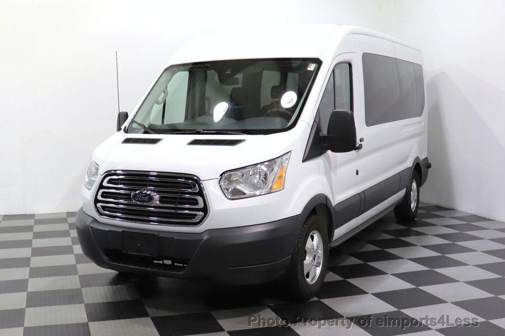 2018 Ford Transit Passenger Wagon CERTIFIED TRANSIT T350 MEDIUM ROOF 15 PASSENGER - 18448591 - 0