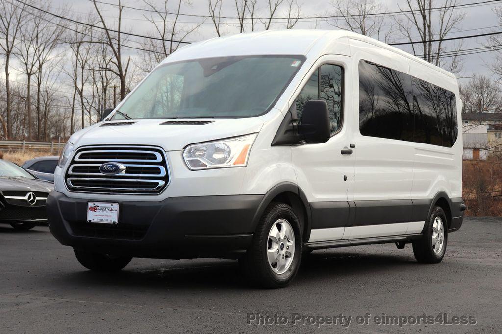 2018 Ford Transit Passenger Wagon CERTIFIED TRANSIT T350 MEDIUM ROOF 15 PASSENGER - 18448591 - 1