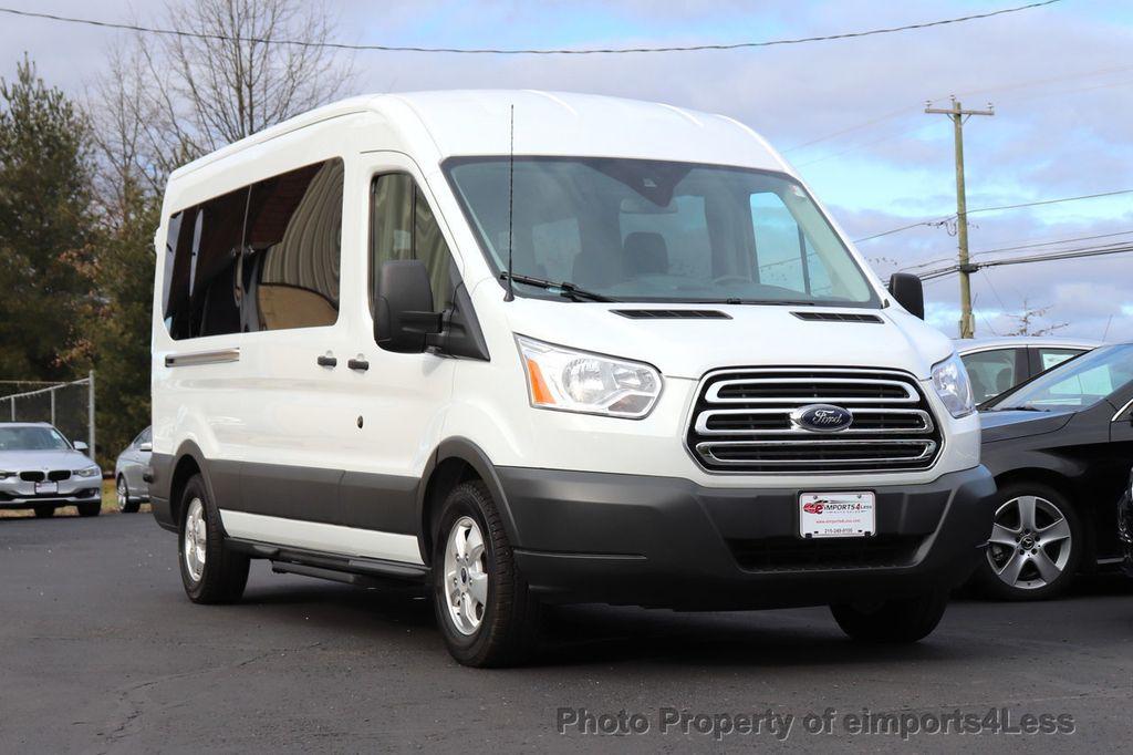 2018 Ford Transit Passenger Wagon CERTIFIED TRANSIT T350 MEDIUM ROOF 15 PASSENGER - 18448591 - 2