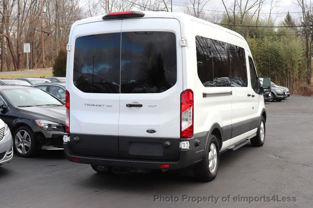 2018 Ford Transit Passenger Wagon CERTIFIED TRANSIT T350 MEDIUM ROOF 15 PASSENGER - 18448591 - 4