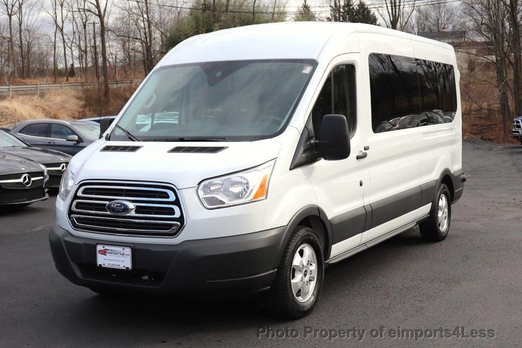 2018 Ford Transit Passenger Wagon CERTIFIED TRANSIT T350 MEDIUM ROOF 15 PASSENGER - 18448592 - 1