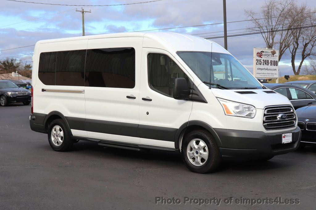 2018 Ford Transit Passenger Wagon CERTIFIED TRANSIT T350 MEDIUM ROOF 15 PASSENGER - 18448592 - 25