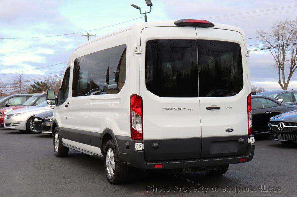 2018 Ford Transit Passenger Wagon CERTIFIED TRANSIT T350 MEDIUM ROOF 15 PASSENGER - 18448592 - 3