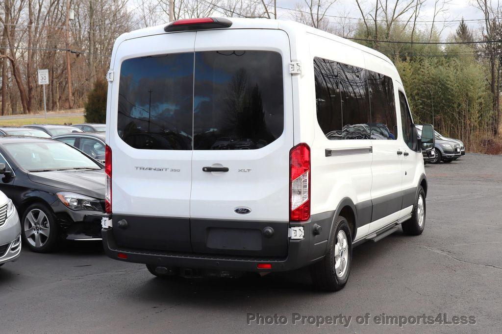 2018 Ford Transit Passenger Wagon CERTIFIED TRANSIT T350 MEDIUM ROOF 15 PASSENGER - 18448592 - 4