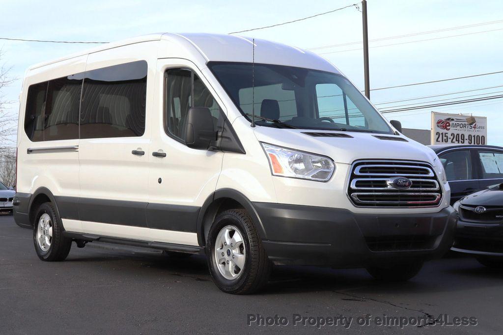 2018 Ford Transit Passenger Wagon CERTIFIED TRANSIT T350 Medium Roof XLT 12 PASSENGER - 18398370 - 12