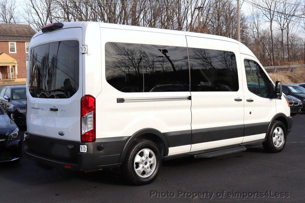 2018 Ford Transit Passenger Wagon CERTIFIED TRANSIT T350 Medium Roof XLT 12 PASSENGER - 18398370 - 3