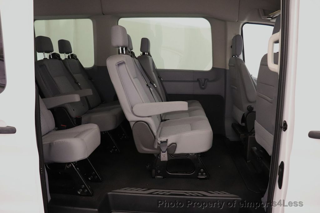 2018 Ford Transit Passenger Wagon CERTIFIED TRANSIT T350 Medium Roof XLT 12 PASSENGER - 18398370 - 44