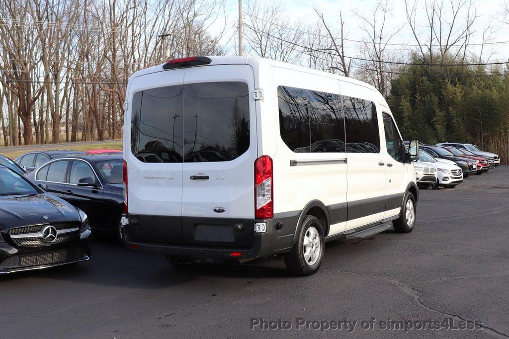 2018 Ford Transit Passenger Wagon CERTIFIED TRANSIT T350 Medium Roof XLT 12 PASSENGER - 18398370 - 50