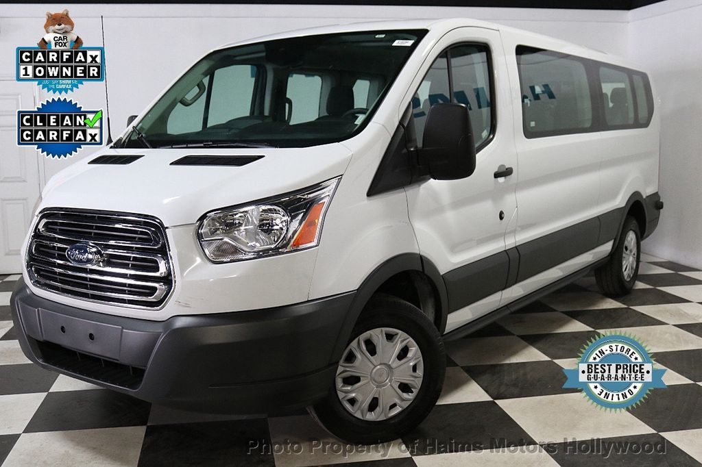 """2018 Ford Transit Passenger Wagon T-350 148"""" Low Roof XLT Swing-Out RH Dr - 18596534 - 0"""