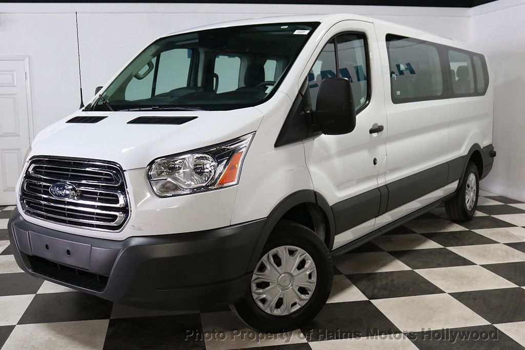 """2018 Ford Transit Passenger Wagon T-350 148"""" Low Roof XLT Swing-Out RH Dr - 18596534 - 1"""